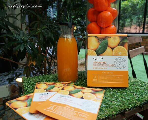 SEP Tangerine Brightening Mask