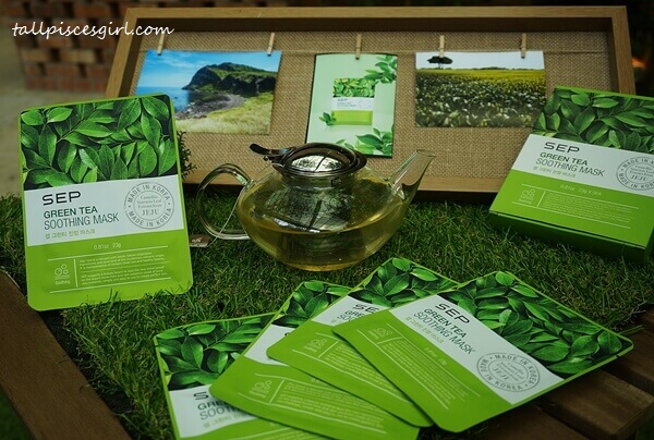 SEP Green Tea Soothing Mask