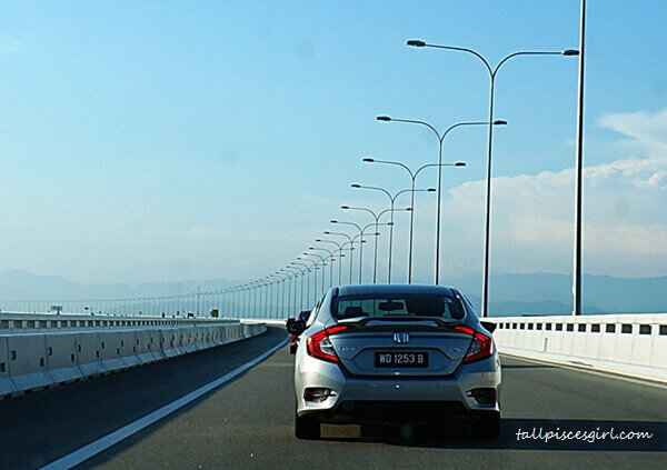 Honda Civic convoy to Penang is made effortless with Cruise Mode