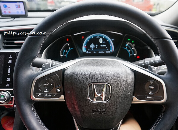 Electrostatic Switch on the steering wheel