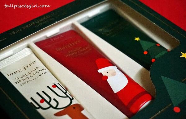 innisfree Jeju Perfumed Hand Cream Christmas Gift Set (Price: RM45 / 30ml x 3 tubes)