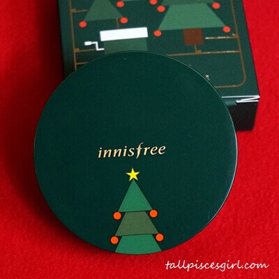 innisfree Green Christmas Limited Edition My Cushion Case (Price: RM33)