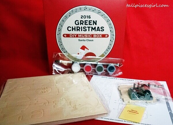 innisfree Green Christmas DIY Music Box (Price: RM30)