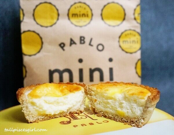 Molten Cheese Fillings from Pablo Mini Cheese Tart
