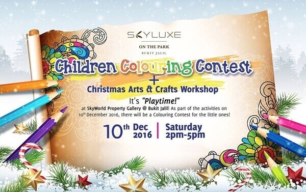 SkyWorld Children Colouring Contest
