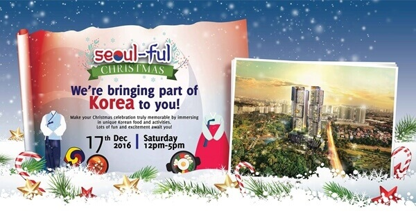 SkyWorld Children Colouring Contest & Seoul-ful Christmas 1