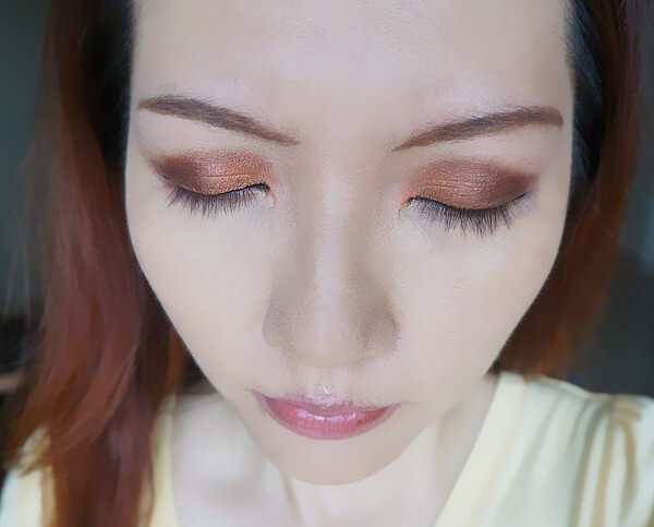 Base: Copper is King / Outer Crease: Rusty Petals / Outer Corner: Wonder Full / Inner Corner: Reflective Elegance