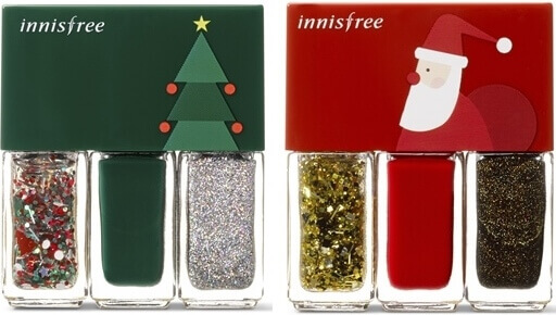 innisfree Christmas Real Color Nail Set (Price: RM36)