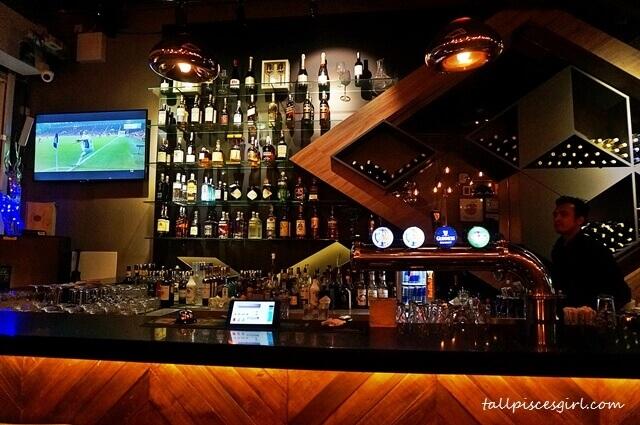 The Eighth Avenue Bar Area