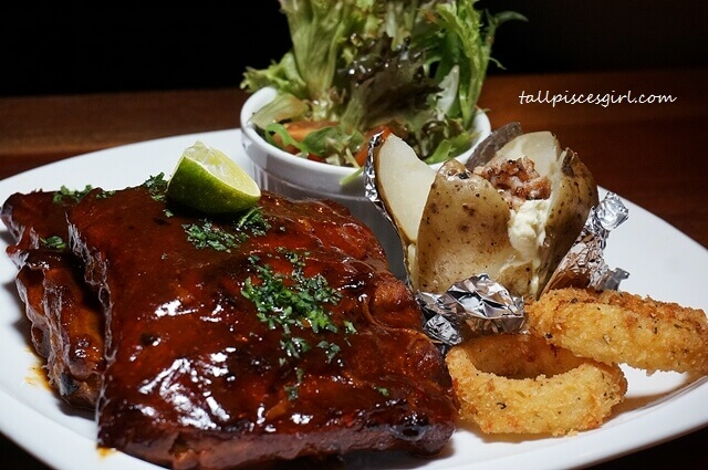 Honey Glazed BBQ Pork Ribs (Price: RM 49.90)