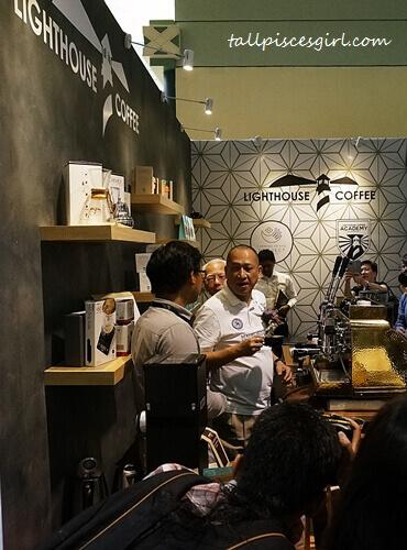 Lighthouse Coffee @ Cafe Malaysia 2017