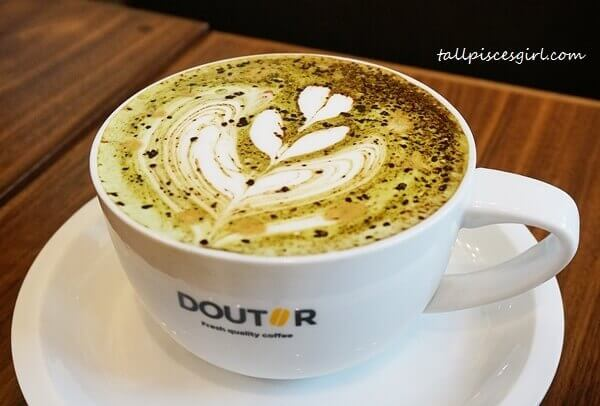 DOUTOR Coffee - Military Latte (Price: RM 16)