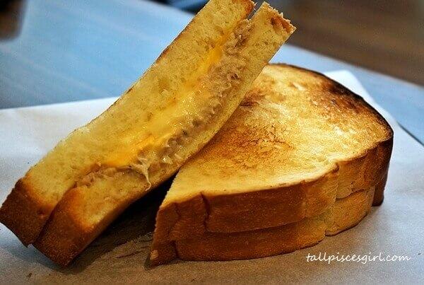 Tuna Cheddar Sandwich<br/>Price: RM 12