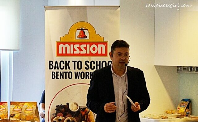 Constantino Flores, Vice President of Mission Foods Asia