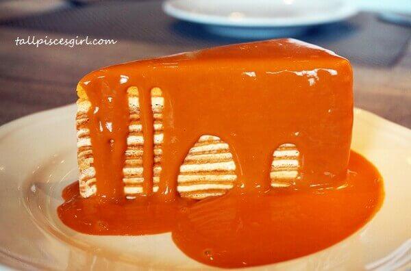 4D3N Bangkok Itinerary: Thai Tea Mille Crepe @ Audrey Cafe des Fleurs