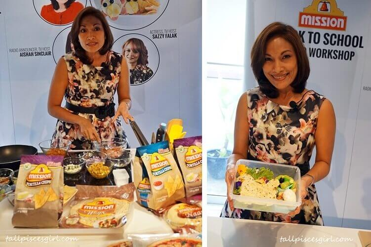 Mission Foods Back to School Bento Workshop with Indra Balaratnam