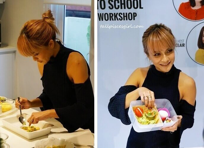 Mission Foods Back to School Bento Workshop with Sazzy Falak