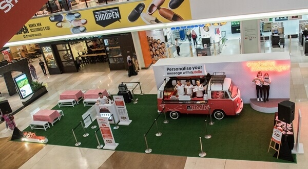 Spot the Kombi van for #NutellaMessenger