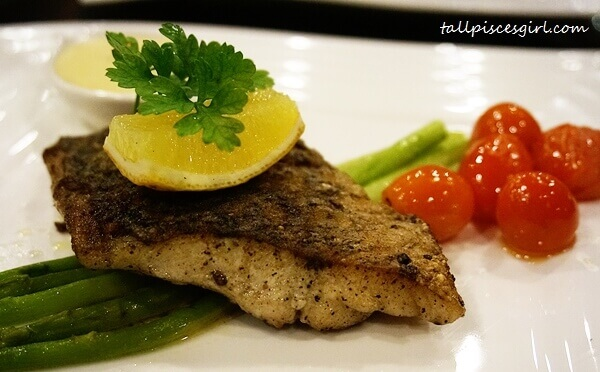 Pan-fried Seabass (Price: RM 32)