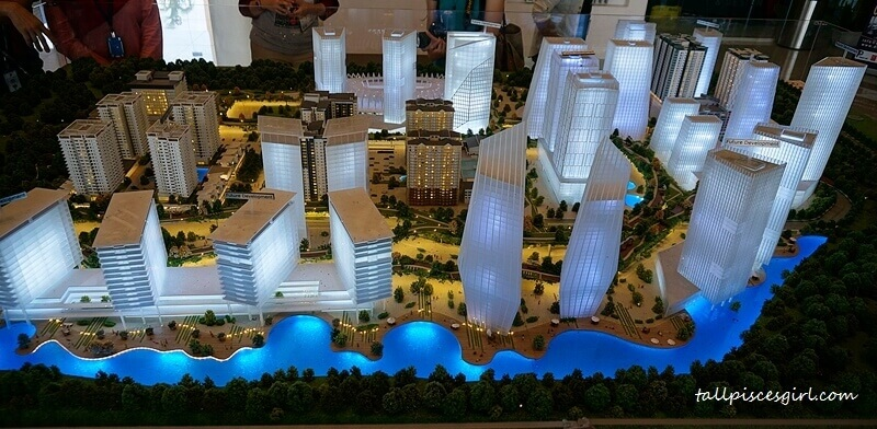 Master Plan of De Centrum City lead by Dato' Sri Chong Ket Pen of Protasco Berhad