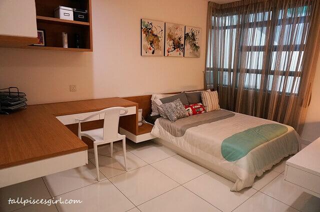 De Centrum Unipark Condominium: Master Bedroom