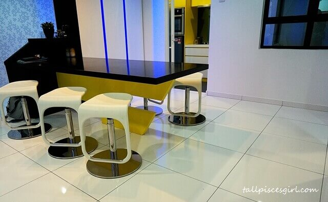 De Centrum Unipark Condominium: Dining Area
