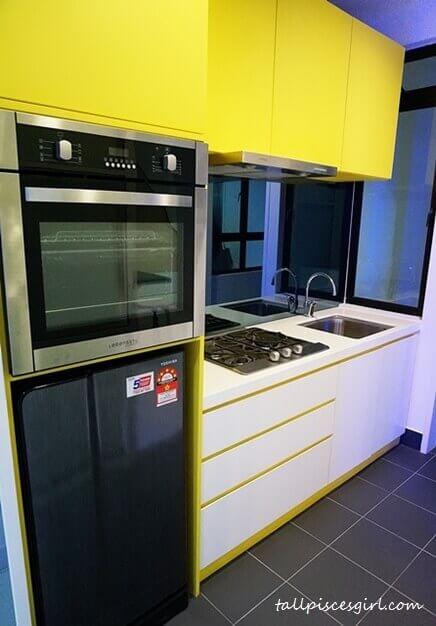 De Centrum Unipark Condominium: Kitchen