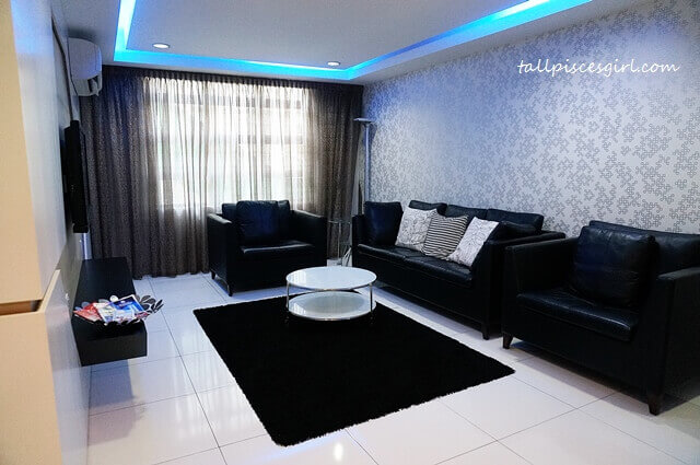De Centrum Unipark Condominium: Living Room