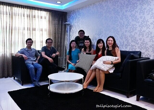 Bloggers @ De Centrum Unipark Condominium Show Unit