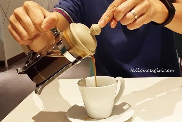 Drinks: Single Origin French Pressed Coffee