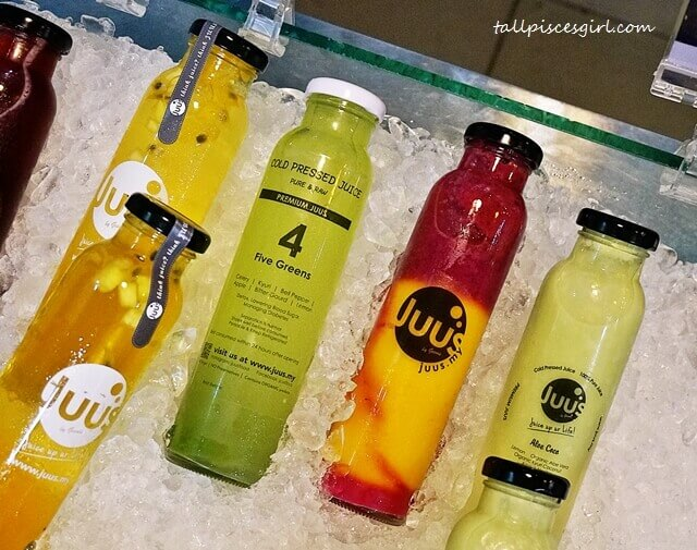 Beautiful yet yummy Juus concoctions