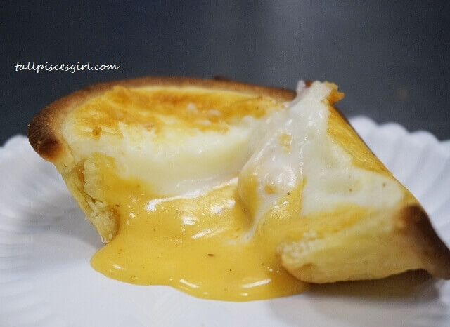 Donutes Lava Salted Egg Cheese Tart - simply irresistible!