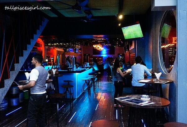 Fire and Ice Bar & Restaurant cozy ambiance