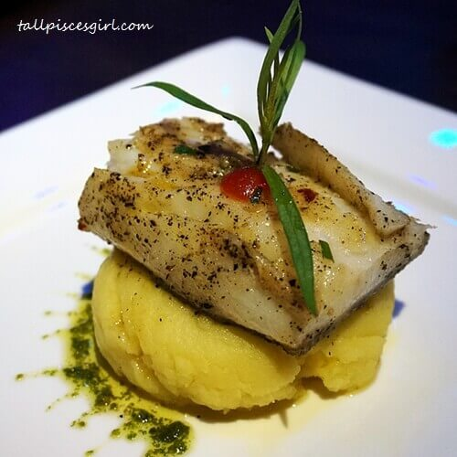Grilled Halibut Fish (Price: RM 32)