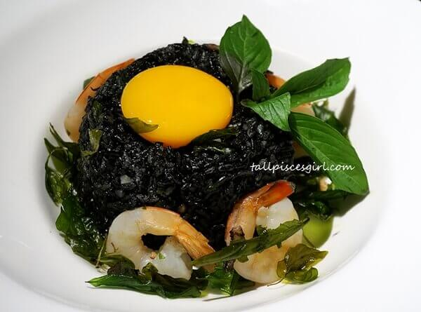 #yolkporn @ Ploy's Black Fried Rice