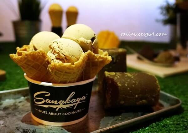 Sangkaya New Menu: Gula Melaka ice cream