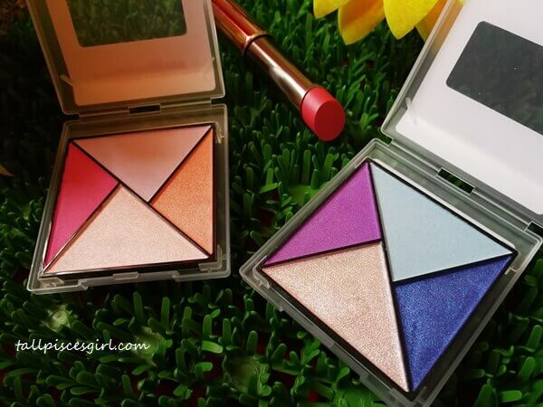 Mary Kay Spring 2017 Collection limited edition Eyeshadow Palettes in Sunlight and Glistening Horizon with True Dimensions Sheer Lipstick