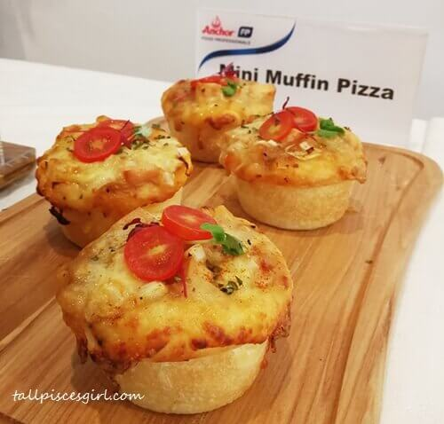 Muffin pizza