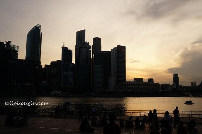 Mesmerizing Sunset in Singapore