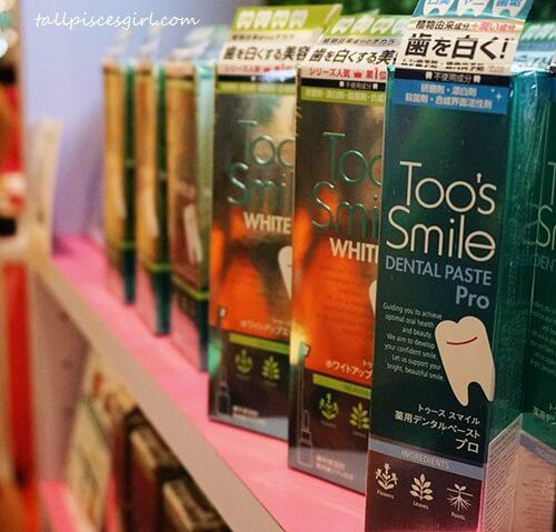 Be a Princess beauty fair: Too's Smile teeth whitening range