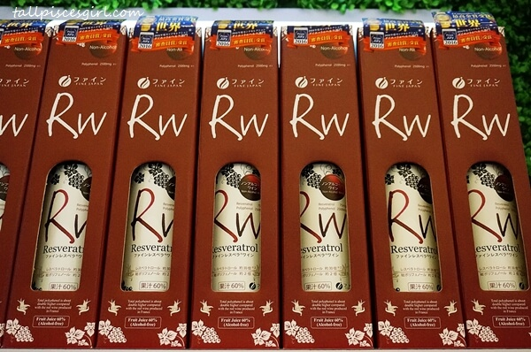 Fine Japan Resveratrol Wine (Non alcoholic extract grape juice)