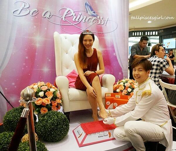 tallpiscesgirl @ Be a Princess roadshow by Sasa Malaysia