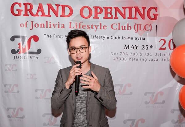 Jon, alongside with Olivia, partnered up to bring better sportswear into the market