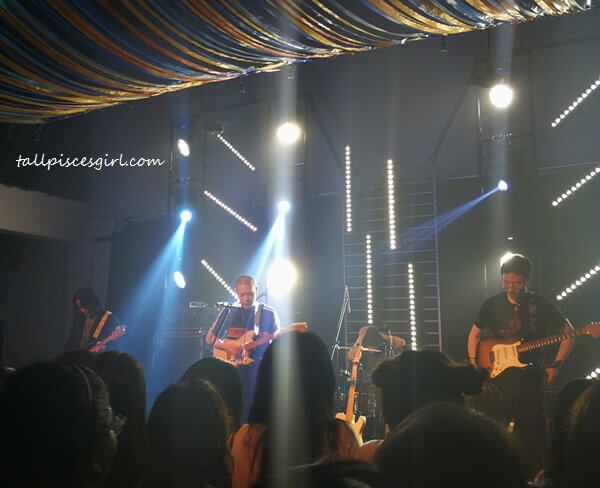 hyukoh performing at Tiger UncageMusic Block Party at Slate, The Row (2)