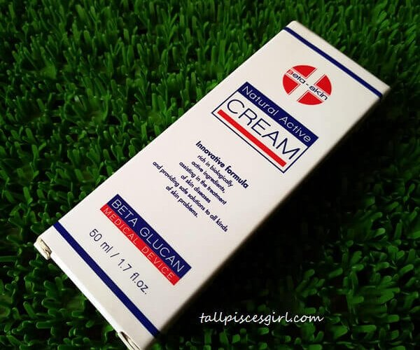 Beta Skin Natural Active Cream - Packaging