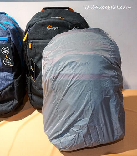 Most of Lowepro bags come bundled with All Weather Cover to protect your gear