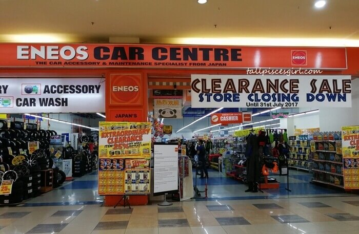 Eneos Car Centre Clearance Sale Store Closing Down