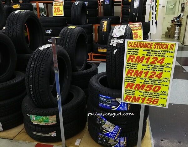 ENEOS Clearance Sale for Tyres