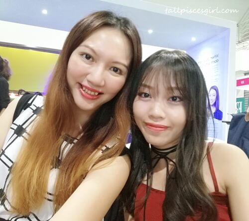 Caught up with fellow blogger, Carinn Tan!