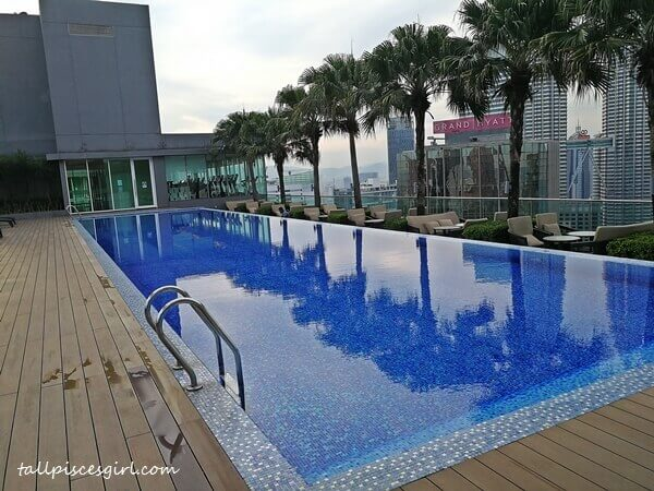 Retaining employees is so much easier with facilities like swimming pool with a view